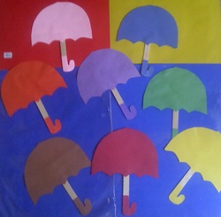 color umbrellas