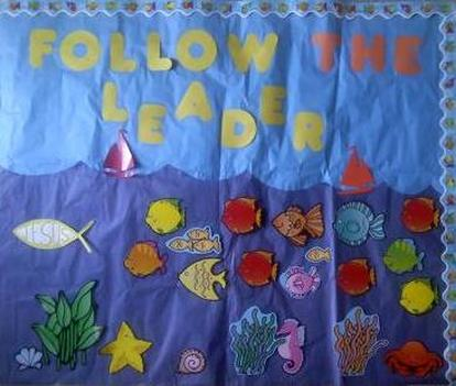 Follow the leader Bulletin Board