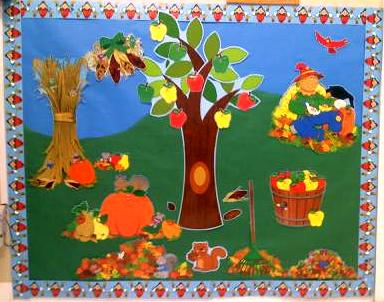 Autumn Bulletin Board Titles http://www.crafts-for-preschool-kids.com/bulletin-boards-etc.html